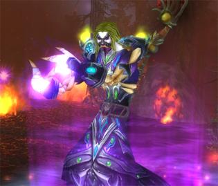Internet est pour le monde porno de Warcraft