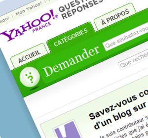 Yahoo Question Réponse