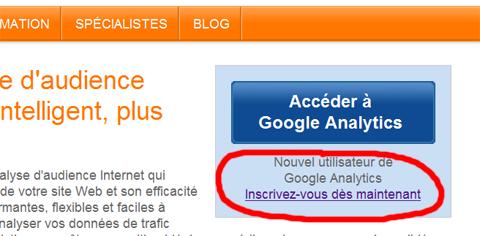 créer un compte google Analytics, wordpress, insérer code analytics dans wordpress