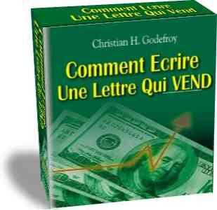 Comment écrire une lettre qui vend, christian godefroy, copywriting, apprendre le copwriting