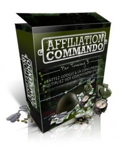 affiliation commando, tommy b