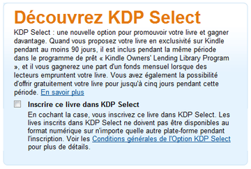 amazon kdp, publier sur kindle