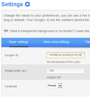 widget plus, google plus, webmarketing