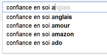 trouver idée article de blog, google suggest