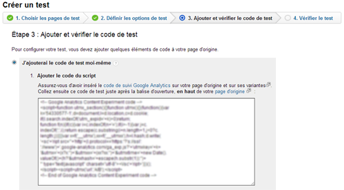 split test, test a/b, google analytics, squeeze page