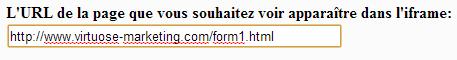 split test, formulaire d'inscription, iframe, google analytics